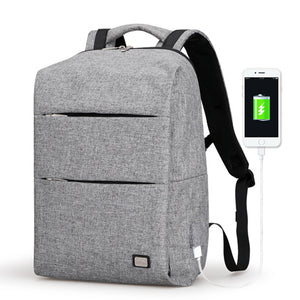 Large Capacity Polyester Casual 15.6inches Laptop Backpack