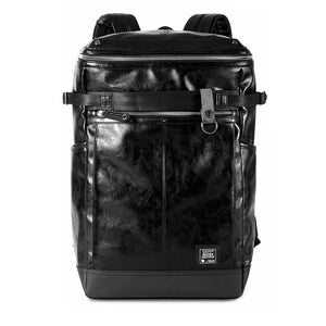Sleek Urban Long Compartment Fashion Laptop Backpack