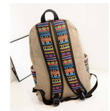 Casual Canvas Women Backpacks School Bags