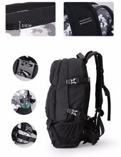 Multi-compartment Nylon Laptop Casual Large Capacity Travel Carrying Backpack
