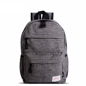 Casual Solid Color Small Backpack