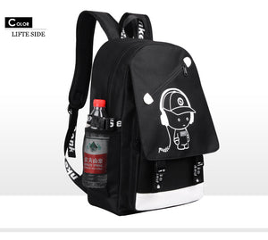 Glow in the Dark Large Capacity Backpack