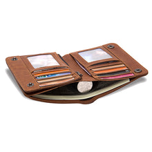 Small Genuine Leather Card Holder/Wallet