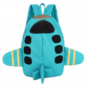 Airplane Backpack for Girls Boys K-1st