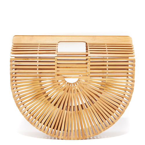 Beautiful Handmade Bamboo Handbag