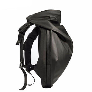 Urban Sleek Fashion Rain Hood Backpack