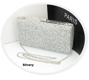 Rhinestone Glitter Crystal Evening Clutch