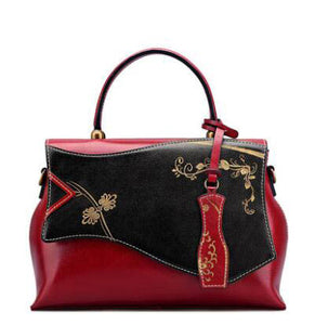 Genuine Leather Specialty Luxury Shoulder Handbags