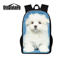 Dispalang 17 inch bulldog puppies husky basset hound husky pug pit sharpei and more! 25 designs backpack