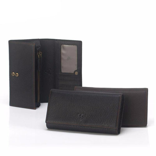 Casual Classic Genuine Leather Unisex Wallet