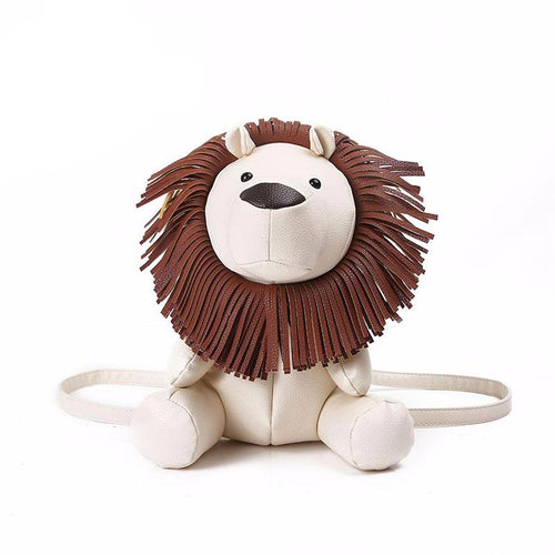 Creative cartoon adorable lion backpack