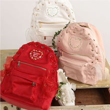 Lovely Lace Backpacks Canvas
