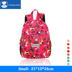 Aged 1-3-5 Toddler Anti-lost Strap Harness Walker Girls Boys Mini Schoolbag