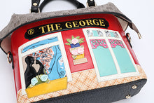 Shop Art The George Embroidered Shoulder Handbag
