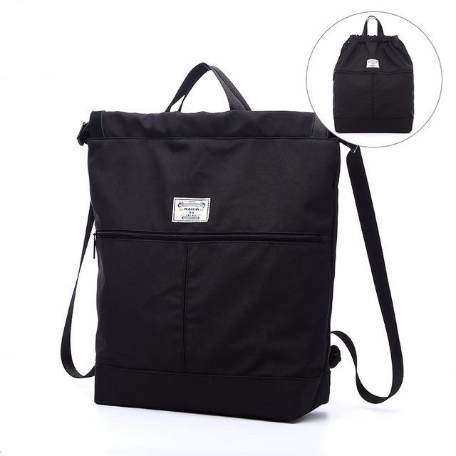 Fashion Canvas Functional Leisure Unisex Backpack