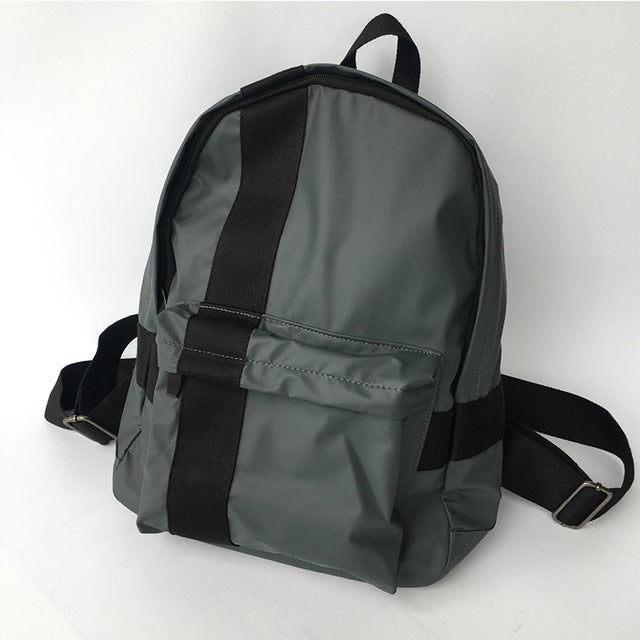 Sleek Casual Thin Nylon Lightweight Men's Backpack