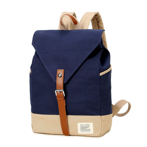 Casual Design Canvas Ladies Backpack