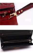 Embossed Genuine leather High Quality Clutch