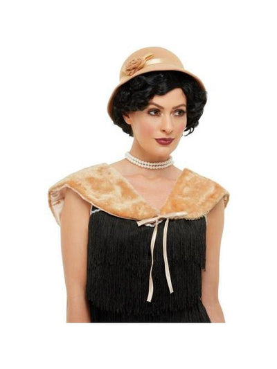1920s Instant Kit - Cream-Costume Accessories-Jokers Costume Hire and Sales Mega Store