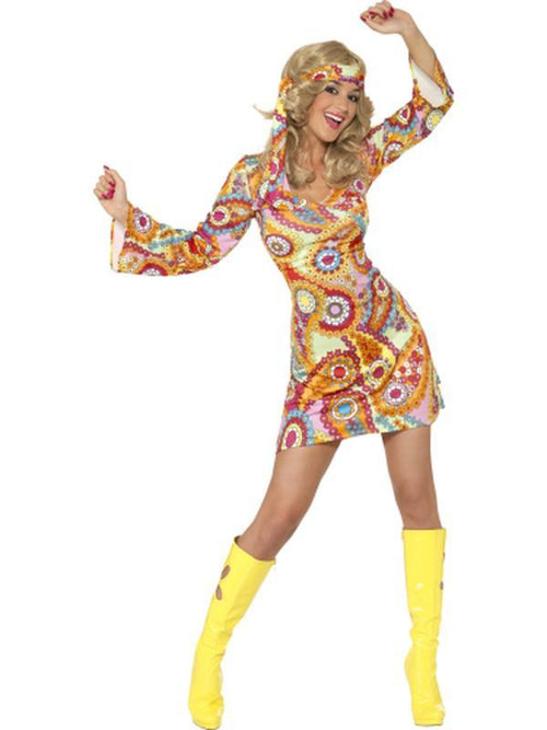 1960s Hippy Costume-Costumes - Women-Jokers Costume Hire and Sales Mega Store