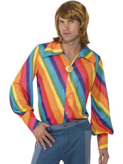 1970s Colour Shirt-Jokers Costume Mega Store