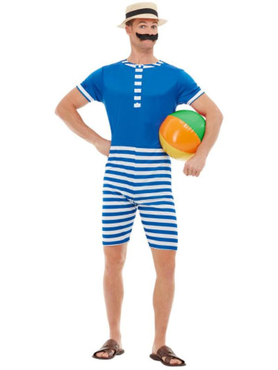 20s Bathing Suit Costume-Costumes - Mens-Jokers Costume Hire and Sales Mega Store