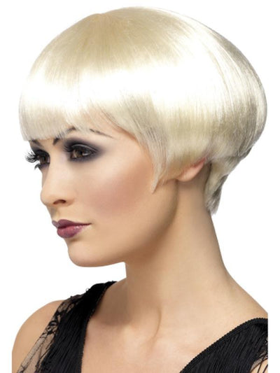 20s Flapper Bob Wig - Blonde-Wigs-Jokers Costume Hire and Sales Mega Store