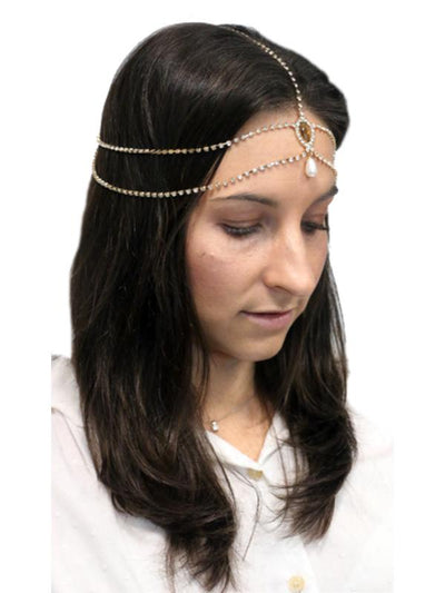 20's Gatsby Head Chain-Hats and Headwear-Jokers Costume Mega Store