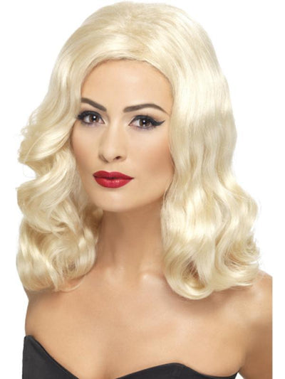20s Luscious Long Wig-Wigs-Jokers Costume Hire and Sales Mega Store