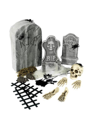 24 Piece Graveyard Collection-Halloween Props and Decorations-Jokers Costume Hire and Sales Mega Store