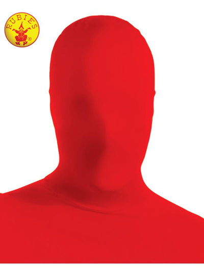 2ND SKIN FACE MASK RED - ADULT-Costumes - Mens-Jokers Costume Hire and Sales Mega Store