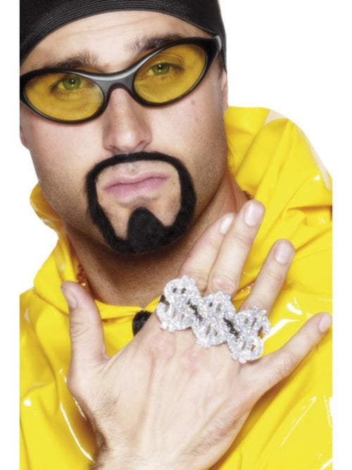 3 in 1 Dollar Rapper Ring-Costume Accessories-Jokers Costume Hire and Sales Mega Store