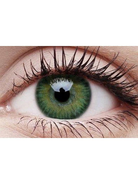3 Tones Colour Contacts - Green-Contact Lens - Crazy Lens 3 months-Jokers Costume Hire and Sales Mega Store
