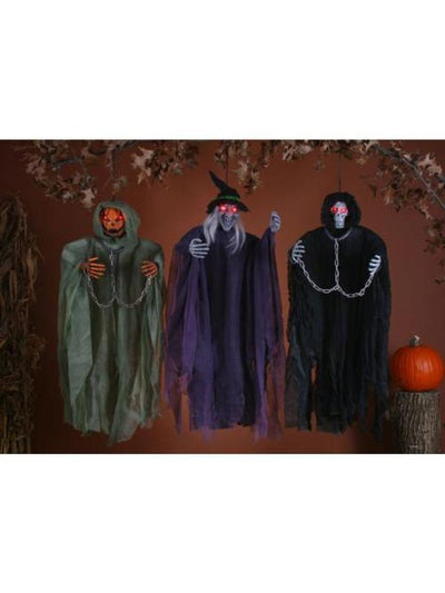 "36"" Hanging Figure Assortment-Halloween Props and Decorations-Jokers Costume Mega Store"