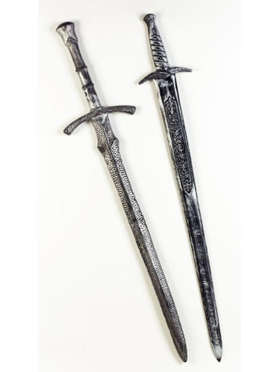 "39"" Knights Sword Asst- 2style-Weapons-Jokers Costume Hire and Sales Mega Store"