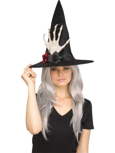 3D Wicked Witch Hat - Resin Hand-Hats and Headwear-Jokers Costume Hire and Sales Mega Store