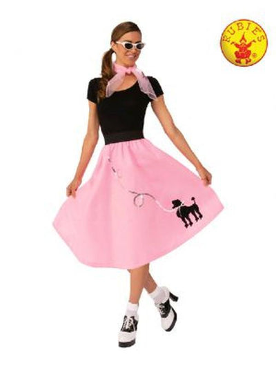 50'S BOPPER SKIRT-Costumes - Women-Jokers Costume Hire and Sales Mega Store