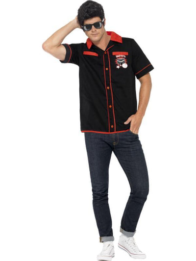 50s Bowling Shirt-Jokers Costume Mega Store
