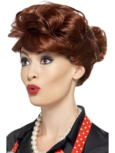 50s Housewife Wig-Wigs-Jokers Costume Hire and Sales Mega Store