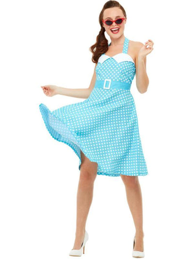 50s Pin Up Costume-Costumes - Women-Jokers Costume Hire and Sales Mega Store