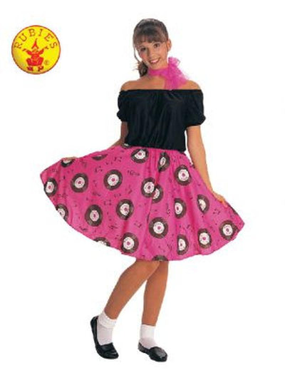50'S POODLE DRESS COSTUME, ADULT-Costumes - Women-Jokers Costume Hire and Sales Mega Store