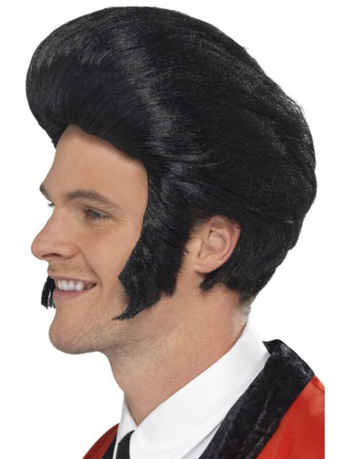 50s Quiff King Wig-Wigs-Jokers Costume Hire and Sales Mega Store