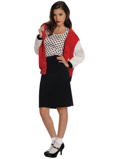50'S Rebel Chick Costume - Size S-Costumes - Women-Jokers Costume Hire and Sales Mega Store