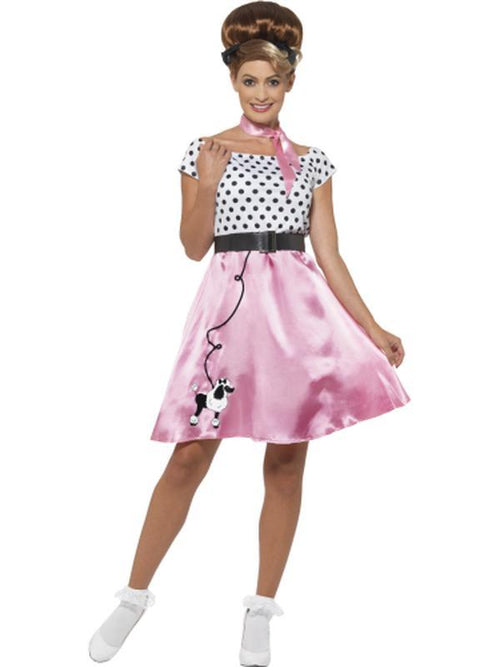 50s Rock 'n' Roll Costume-Costumes - Women-Jokers Costume Hire and Sales Mega Store