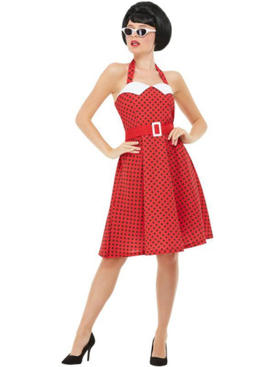 50s Rockabilly Pin Up Costume-Costumes - Women-Jokers Costume Mega Store