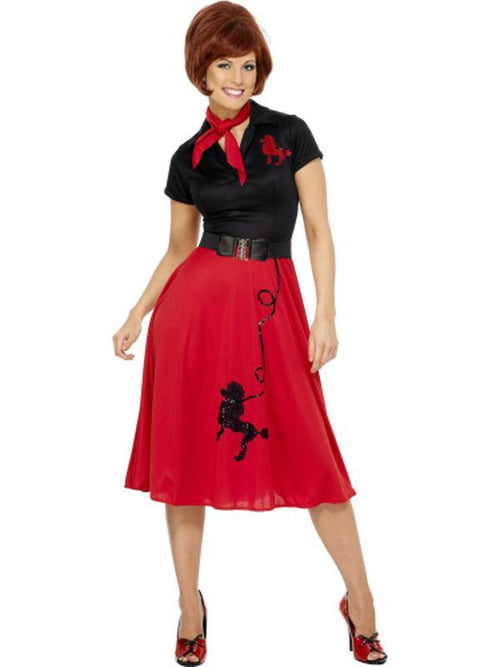 50s Style Poodle Costume-Costumes - Women-Jokers Costume Hire and Sales Mega Store