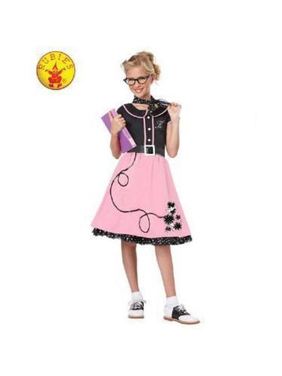 50'S SWEETHEART COSTUME - SIZE L-Costumes - Girls-Jokers Costume Mega Store