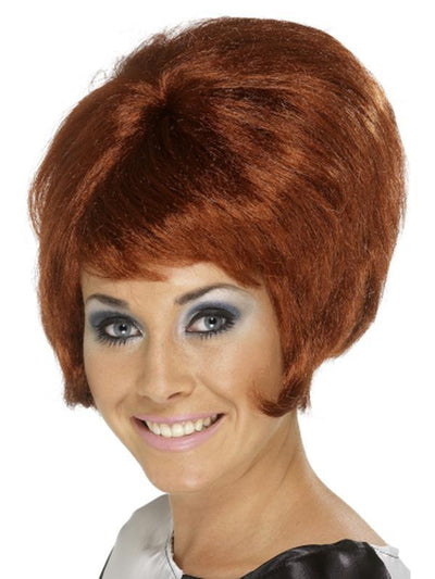 60s Beehive Wig - Auburn-Wigs-Jokers Costume Hire and Sales Mega Store