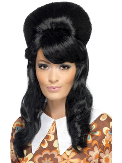 60s Brigitte Bouffant Wig-Wigs-Jokers Costume Hire and Sales Mega Store