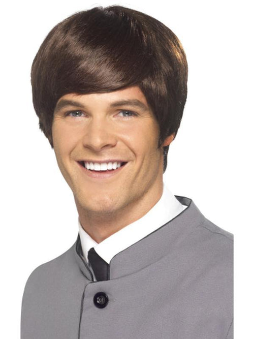 60s Male Mod Wig-Wigs-Jokers Costume Hire and Sales Mega Store